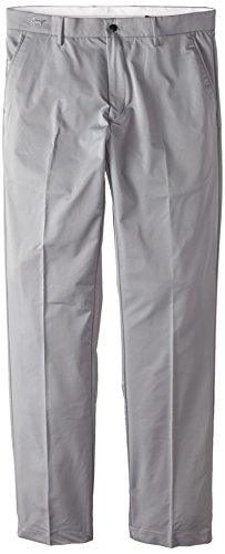 Greg Norman Collection Men's ML75 Hybrid Flat Front Pant, Steel, 36/34
