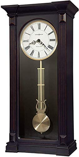 Howard Miller MIA Worn Black Wall Clock