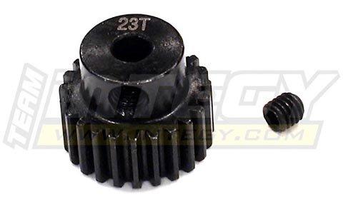 Integy RC Model Hop-ups T3473 23T Steel Pinion Gear for 1//16 Traxxas E-Revo Summit Slash Rally