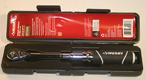 "Husky Torque Wrench 40-200 in lbs 1/4"" drive"