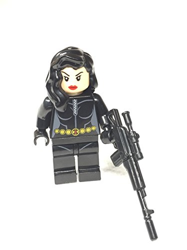 Black Widow Minifigure Sniper Captain (Hulk Custome)