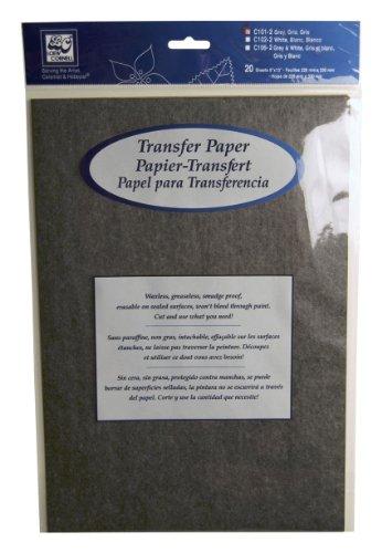 Loew-Cornell C101-2 4-Piece Grey Transfer Paper Pad, 9-Inch-by-13-Inch