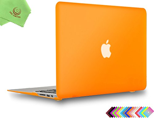 UESWILL Smooth Soft-Touch Matte Frosted Hard Shell Case Cover for MacBook Air 13