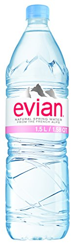 Evian Spring Water, 50.7 Ounces by evian