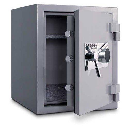 Mesa-Safes-High-Security-Burglary-Fire-Safe3-cu-ft215x16x15inSilverCombination-Lock-MSC2520C