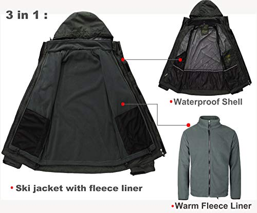 Mens snowboard jackets