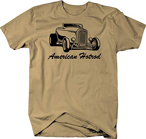 - American Hotrod Roadster Convertible 1930's 40's 50's Chevy Ford Custom Tshirt - Small