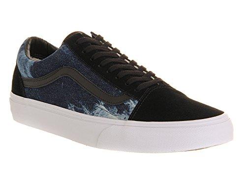 Pepper Basses Vans Homme Black Sneakers Denim Chilli YqAqRp