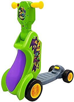 Nickelodeon 2-in-1 Scoot Teenage Turtles Ride