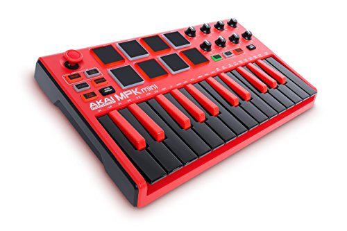 Akai-Professional-RED-MPK-MINI-MKII