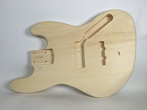 solid body diy electric bass guitar kit fretless string build your own ebay. Black Bedroom Furniture Sets. Home Design Ideas