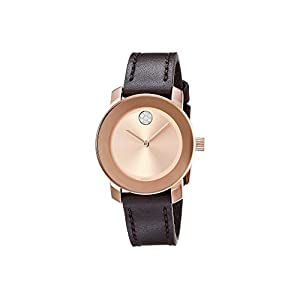 Movado Women's Bold – 3600438 Rose Gold Tone One Size