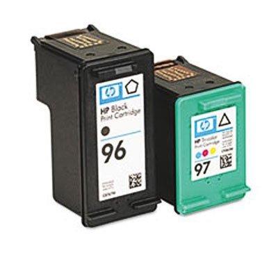 Genuine OEM brand name HP 96/97 Combo Pack Blk/ Tri Inkjet C9353FN