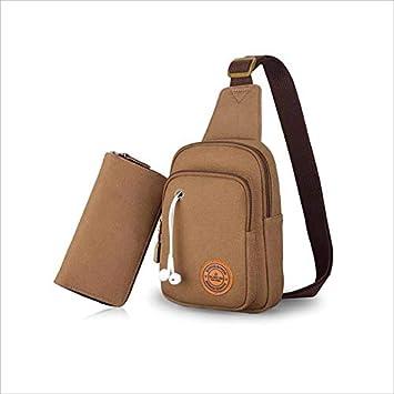 f56216b922713 Herrentasche für Männer Männer 2 In 1 Tasche Set Männer Brust Tasche  Handtasche Anzug Multifunktionale Tasche