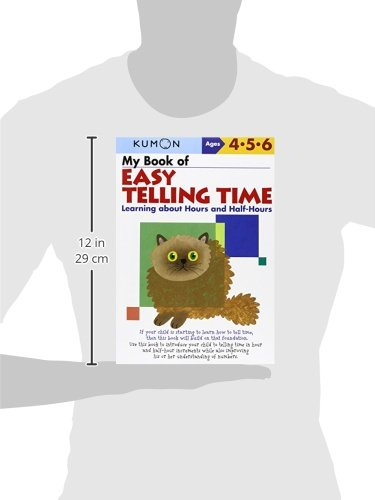 My Book of Easy Telling Time: Learning about Hours and Half-Hours ...
