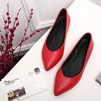 comodidad las soporte de primavera Zapatos y carrera Novelty Cómodo rosa Casual zapatos de elegante Sintético Oficina otros de atlética verano vestido pisos otoño Jelly soporte y talón Cuero Piel mujeres YwEpAqO