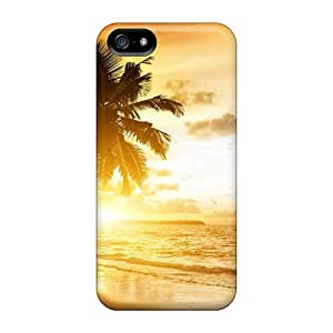 Iphone 5/5s Cover Case - Eco-friendly Packaging(coconut Beach Sunrise)