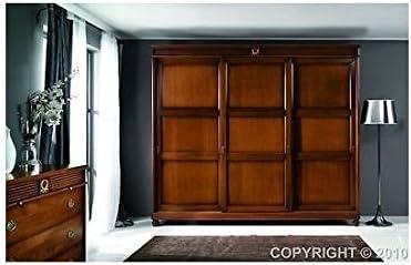 Armario de puertas correderas madera maciza – como fotográfico ...