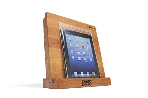 John Boos Block i-Block Cherry Wood Cutting Board and Tablet