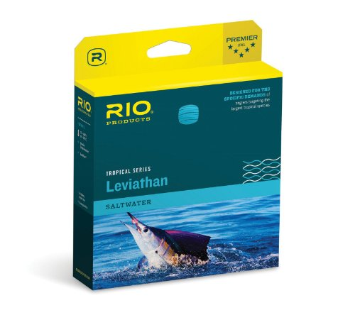 RIO Fly Fishing Fly Line Leviathan 26' Sink Tip 600gr Fishing Line, Black/Trans Yellow, Black-Trans-Yellow
