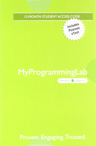 MyProgrammingLab with Pearson eText -- Access Card -- for Starting Out with C++ from Control Structures to Objects by Pearson