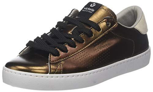 76 Donna Metalizado Marrone Sneaker Victoria Deportivo bronze YwvxgnUfqW