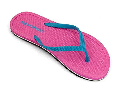 AQUA-SPEED ® Flip Flops Merida femmes| adultos | zapatos de playa | Sandals | piscina zapatos | 36–