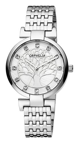 ORPHELIA Lignum Women's Silver Stainless steel watch-OR12700