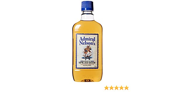 Admiral Nelson Spiced Rum 750 ML 70 Proof Amazon Grocery Gourmet Food