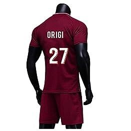 HJM Divock Origi #27 Jersey Soccer Masculin Set-Rouge