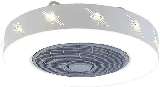 Luz de Ventilador lámpara de Techo de Dormitorio Invisible hogar ...