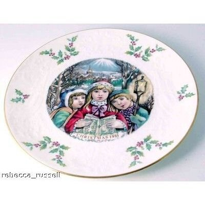 Royal Doulton Christmas Plate 1981 Fifth of a Series