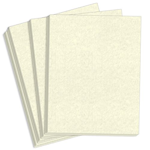 Astroparche White Paper - 8 1/2 x 11, 60lb Text, 4000 Pack by LCI Paper