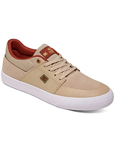 DC Shoes Wes Kremer, Espadrillas Basse Uomo Tan/Brown