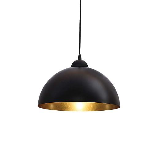 Lámpara de araña industrial retro HEYUN, elegante carcasa de ...