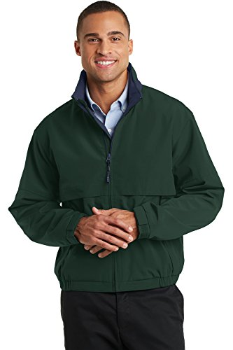 Port Authority Men's Tall Legacy Jacket 3XLT Hunter/ Dark Navy
