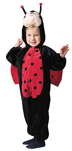 [Morris Toddler Plush Ladybug Costme 3T-4T] (50s Girl Costumes Ideas)