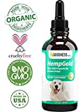 Fur Goodness Sake Hemp Oil for Dogs and Cats - Organic Remedy for Dog Anxiety Relief and Calming - Dog Hemp Oil for Joint Pain