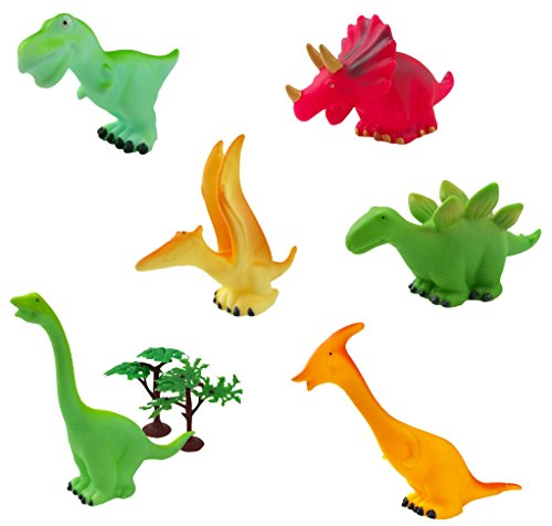 Squeeze Squeaky Dinosaur Figures Toddlers product image