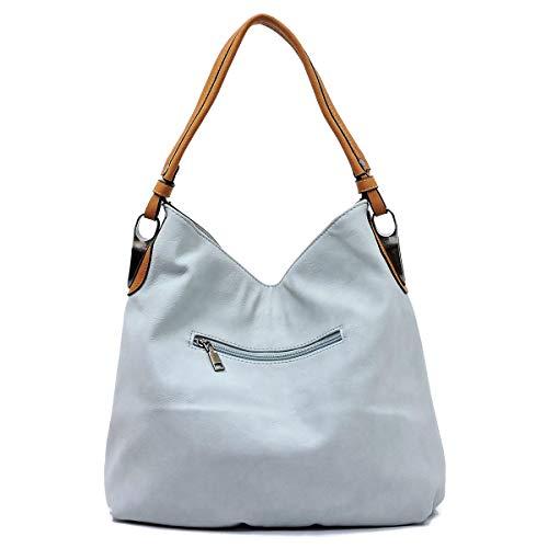 with Bag Blush Shoulder Bucket Shoulder Bagblaze Hobo Strap Detachabel Style Extra 4aCqcR1F