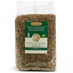 Johnston & Jeff Dried Mealworms 12.5kg