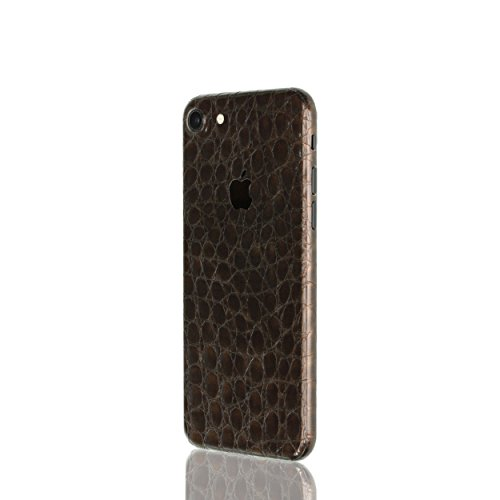AppSkins Rückseite iPhone 7 Full Cover - Alligator brown