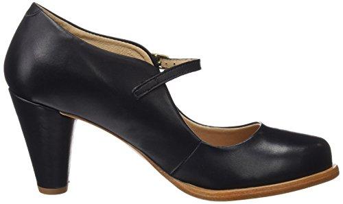 Neosens Women's S931 Restored Skin Ebony/Beba Closed Toe Heels Black (Ebony Ebony) esTaUHMbQA