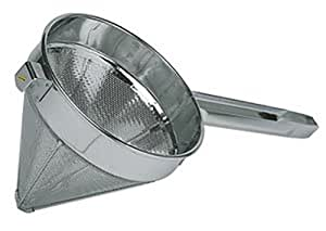 NEW, 8-Inch Depth, China Cap Chinoise Strainer, Mesh, Stainless Steel
