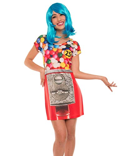 Faux Real Photorealistic Womens Gumball Dress (X-Large) -
