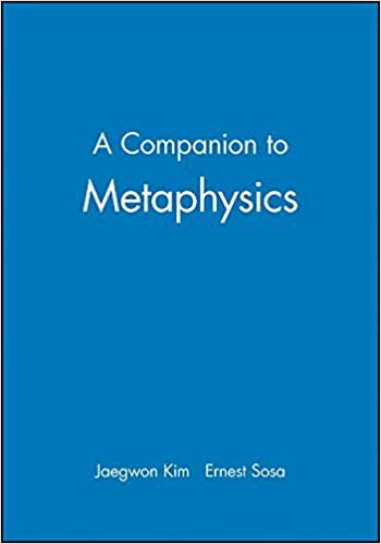 Companion To Metaphysics (Blackwell Companions to Philosophy) by Kim Kim (1996-01-15)