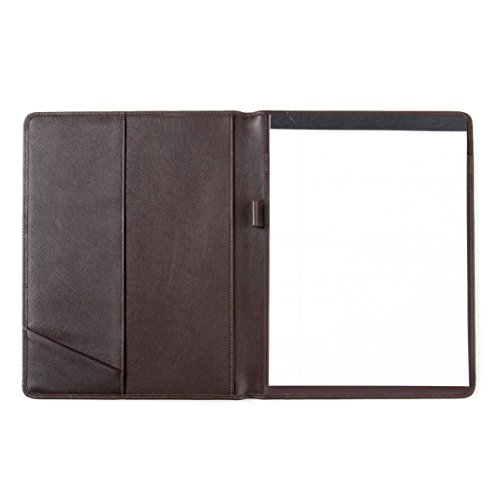 Standard Padfolio - Full Grain Leather - Chocolate Brown