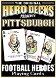 Pittsburgh Football Heroes : Playing Cards, Hero Decks, 0977110737