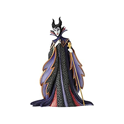 "Enesco Disney Showcase Sleeping Beauty Maleficent Stone Resin Figurine, 8.75"", Multicolor"