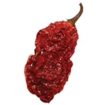 10 Whole Ghost Pepper Dried Intact Seed Pods +2 Free! Super Hot Wicked Tickle